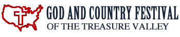 Treasure Valley God and Country Family Festival Logo